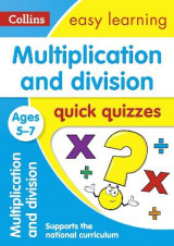 Omslag - Multiplication & Division Quick Quizzes Ages 5-7