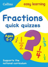 Omslag - Fractions Quick Quizzes Ages 5-7
