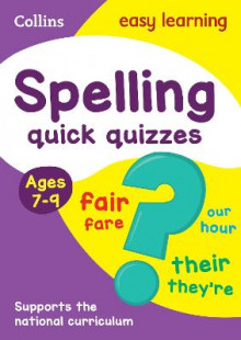 Collins Easy Learning KS2: Spelling Quick Quizzes Ages 7-9 av Collins Easy Learning (Heftet)