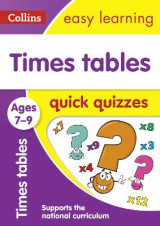 Omslag - Times Tables Quick Quizzes Ages 7-9