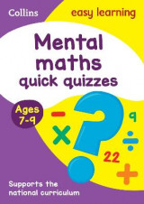 Omslag - Collins Easy Learning KS2: Mental Maths Quick Quizzes Ages 7-9