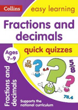 Omslag - Fractions & Decimals Quick Quizzes Ages 7-9