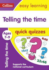 Omslag - Telling the Time Quick Quizzes Ages 7-9