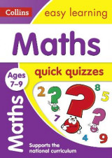 Omslag - Collins Easy Learning KS2: Maths Quick Quizzes Ages 7-9