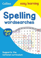 Omslag - Spelling Word Searches Ages 5-7