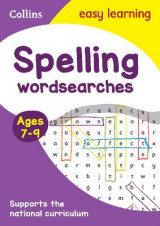Omslag - Spelling Word Searches Ages 7-9