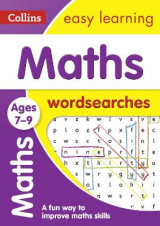 Omslag - Maths Word Searches Ages 7-9