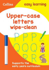 Omslag - Upper Case Letters Age 3-5 Wipe Clean Activity Book