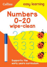 Omslag - Numbers 0-20 Age 3-5 Wipe Clean Activity Book