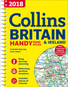 2018 Collins Handy Road Atlas Britain av Collins Maps (Spiral)