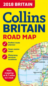 Omslag - 2018 Collins Map of Britain