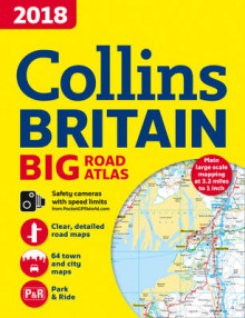2018 Collins Big Road Atlas Britain av Collins Maps (Heftet)