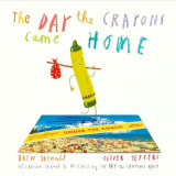 Omslag - The Day the Crayons Came Home