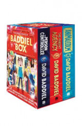 Omslag - The Blockbuster Baddiel Box (The Parent Agency, The Person Controller, AniMalcolm)