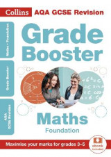 Omslag - AQA GCSE Maths Foundation Grade Booster for grades 3-5
