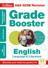 Omslag - AQA GCSE English Language And English Literature Grade Booster for grades 4-9