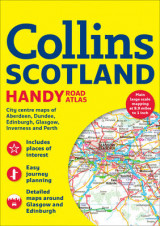 Omslag - Collins Handy Road Atlas Scotland