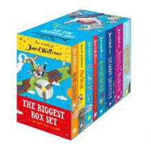 The World of David Walliams: The Biggest Box Set av David Walliams (Blandet mediaprodukt)