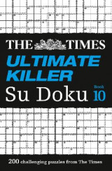 Omslag - The Times Ultimate Killer Su Doku Book 10