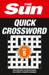 Omslag - The Sun Quick Crossword Book 5