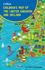 Omslag - Children's Map Of The United Kingdom And Ireland