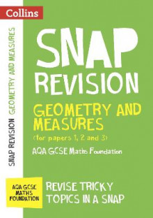 Geometry and Measures (for Papers 1, 2 and 3): AQA GCSE Maths Foundation av Collins GCSE (Heftet)