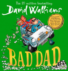 Bad Dad av David Walliams (Lydbok-CD)