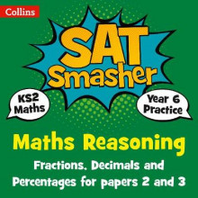 Year 6 Maths Reasoning - Fractions, Decimals and Percentages for papers 2 and 3 av Collins KS2 (Heftet)