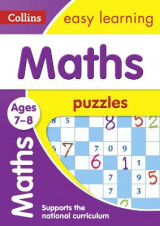 Omslag - Maths Puzzles Ages 7-8