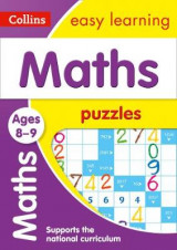 Omslag - Maths Puzzles Ages 8-9