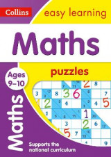 Omslag - Maths Puzzles Ages 9-10