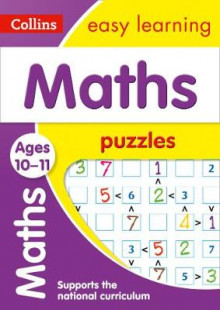 Maths Puzzles Ages 10-11 av Collins Easy Learning og Peter Clarke (Heftet)