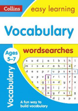 Omslag - Vocabulary Word Searches Ages 5-7