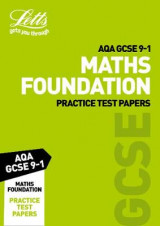 Omslag - AQA GCSE Maths Foundation Practice Test Papers