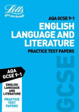 Omslag - AQA GCSE English Language and Literature Practice Test Papers