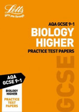 Omslag - AQA GCSE Biology Higher Practice Test Papers