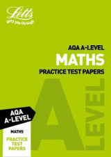 Omslag - AQA A-Level Maths Practice Test Papers