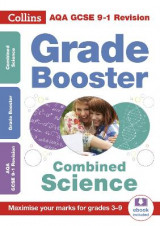 Omslag - AQA GCSE Combined Science Trilogy Grade Booster for grades 3-9
