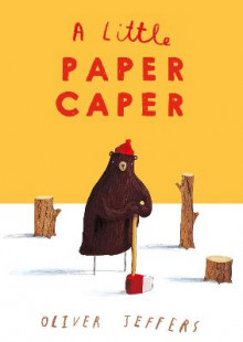 A Little Paper Caper av Oliver Jeffers (Pappbok)