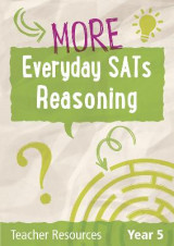 Omslag - Year 5 More Everyday SATs Reasoning Questions with free download