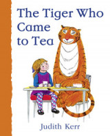 Omslag - The Tiger Who Came to Tea