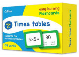 Omslag - Times Tables Flashcards