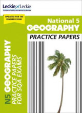 Omslag - National 5 Geography Practice Papers for SQA Exams