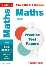 Omslag - AQA GCSE Maths Higher Practice Test Papers