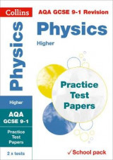 Omslag - AQA GCSE Physics Higher Practice Test Papers