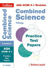 Omslag - AQA GCSE Combined Science Foundation Practice Test Papers