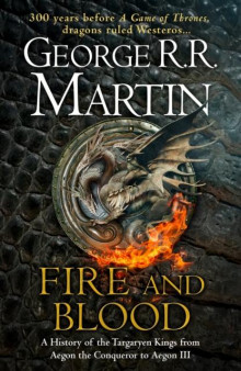 Fire & blood av George R.R. Martin (Innbundet)