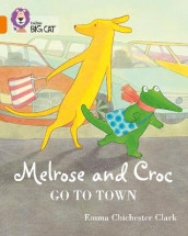 Melrose and Croc Go To Town av Emma Chichester Clark (Heftet)