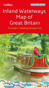 Omslag - Collins Nicholson Inland Waterways Map of Great Britain