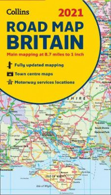 GB Map of Britain 2021 av Collins Maps (Kart, falset)